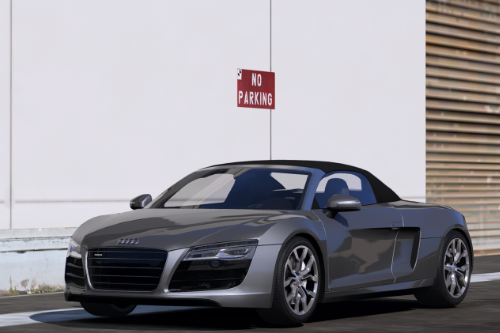 2014 Audi R8 V10 Spyder [Add-On | Animated Roof]
