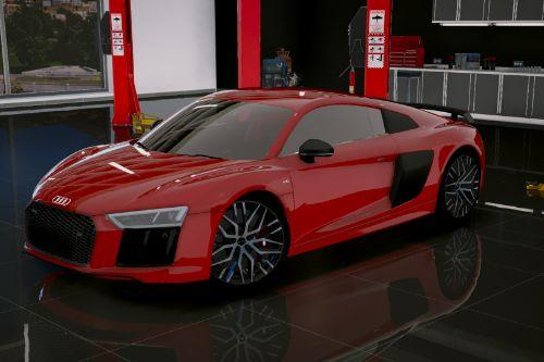 Audi R8 V10 Plus 2017[Add-On/Replace|Tuning]
