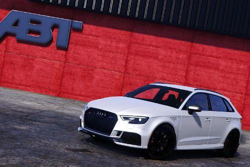 Audi RS3 Sportback 2018 [Add-on/Tuning+wheel-ABT]