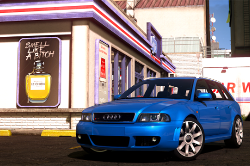 Audi RS4 2001 [Add-On / Replace / Livery]
