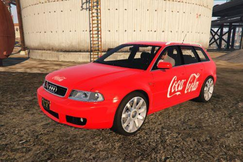 Audi RS4 B5 Avant 2001 livery - Coca Cola simple paintjob