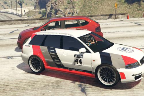 Audi RS4 B5 Paintjob