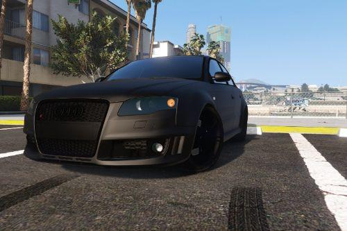 Audi RS4 B7 2006 [Add-On | Animated | Template]