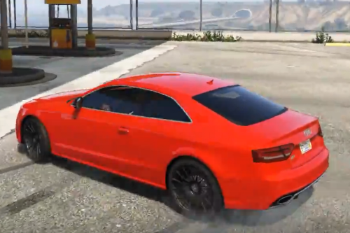 Audi RS5 2011 High Performance Drift Handling
