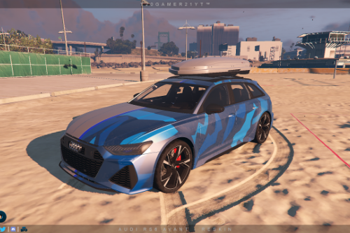 Audi RS6 Avant Paintjob