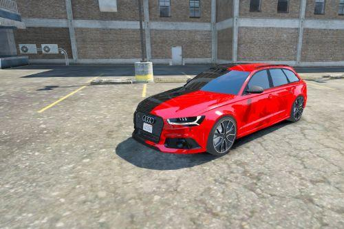 Audi RS6 C7 Paintjob