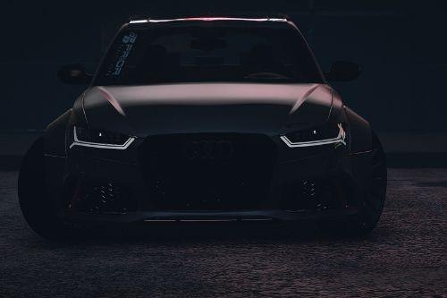 Audi A6/Rs6 Prior Design 2016 [Add-on]