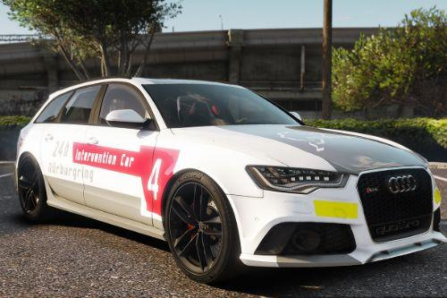 Audi RS6 2014 Safety Car Nurburgring Livery