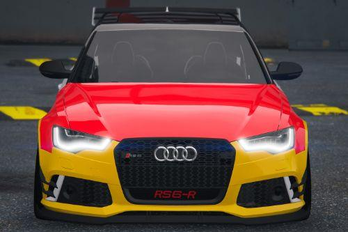 Pack of Paint job for the 2014 Audi Rs6