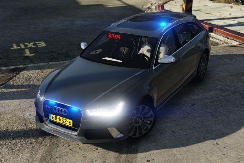 Audi RS6 Unmarked Police [ELS]