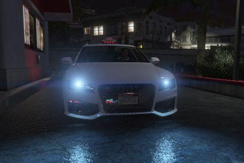 Audi RS7 French Taxi