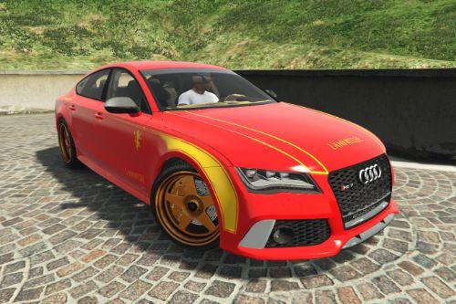 Audi RS7 livery - Lannister Design [Paintjob] - Game of Thrones