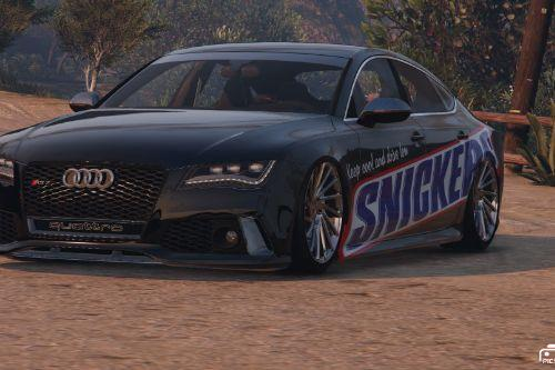 Audi RS7 | Snickers Paintjob