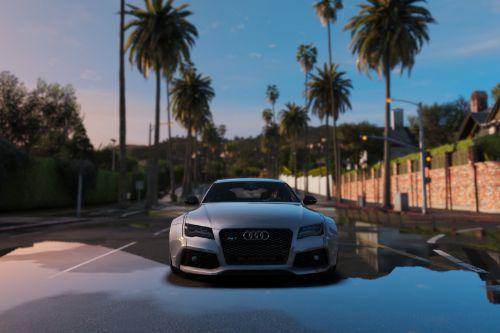 Audi RS7 Sportback Widebody Kit Handling