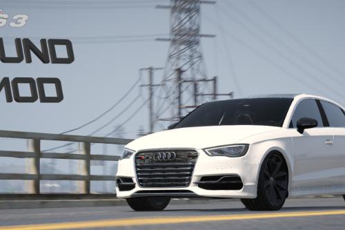 2015 Audi S3 sound (DSG)