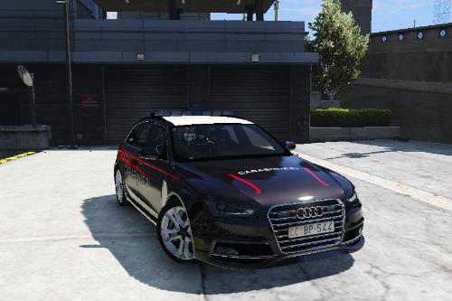 Audi S4 Avant Carabinieri (Italian army police)