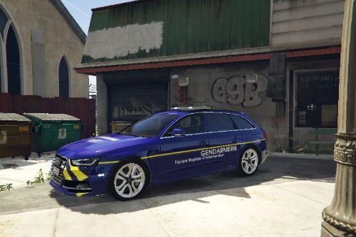 Audi S4 Gendarmerie ERI