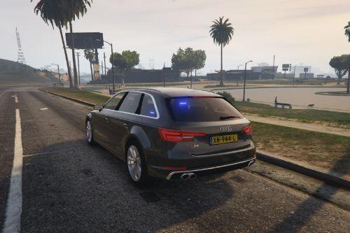 Unmarked Politie | Audi S4 | Dutch/NL | ELS
