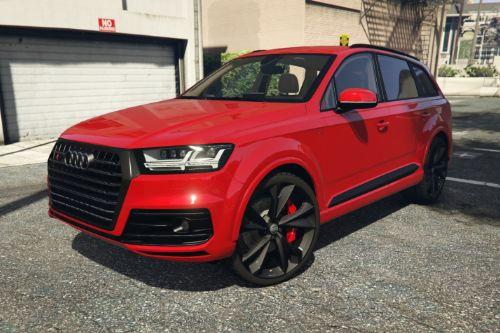 Audi SQ7 2016 Black Pack [Retexture]
