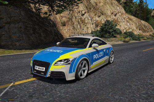 Audi TT RS German police [noELS/ESL]
