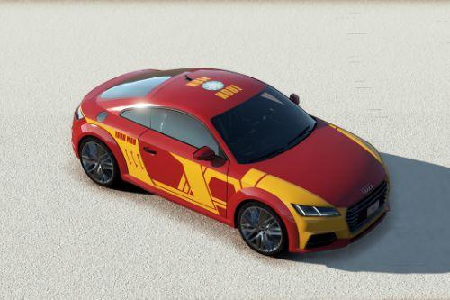 [Audi TTS 2015]IRON MAN livery
