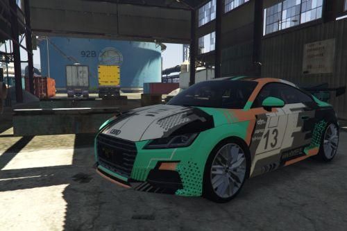 Audi TT S livery - HOWDEEP Design Skin [Paintjob] - inspired by HOWDEEP?