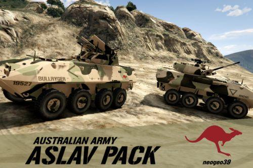 Australian Army ASLAV Pack [ADDON]