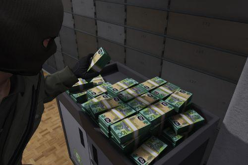Australian Money for Fleeca Bank Heists