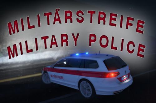 (AUSTRIA/ÖSTERREICH) Militärstreife/Military Police