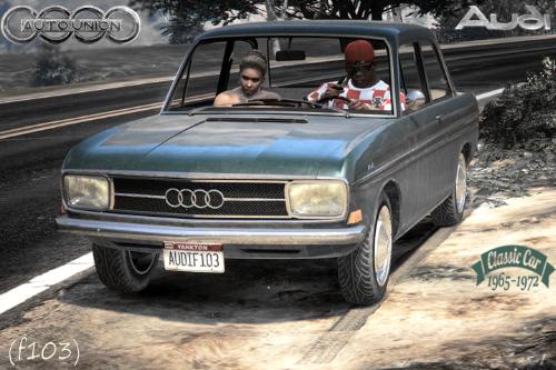 AUTO UNION - Audi (F103) [Add-On | LODS]