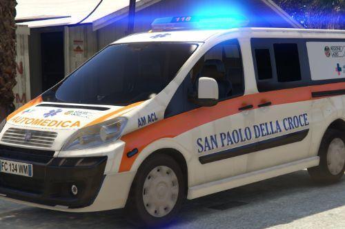 Automedica - Fiat Scudo - Regione Lazio