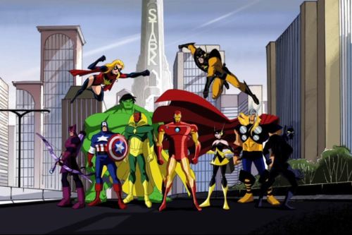 Avengers: Earth's Mightiest Heroes intro
