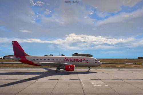 Avianca livery (A320-200 and A320neo)