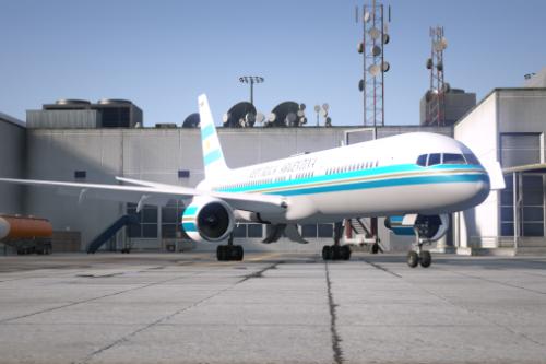 Avión presidencial de Argentina