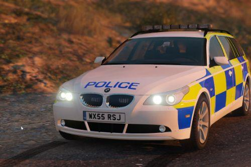 Avon and Somerset Police BMW E61 Traffic Car [ELS]
