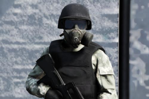 Avon FM53 Gas Mask