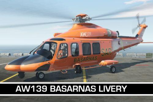 AW139 | BASARNAS / Indonesian National Search and Rescue Livery