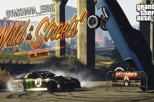 E304e1 gta 5 ken block meets mad mike gymkhana eight wild in the streets of los santos