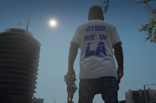 """Aye We In LA"" T-shirt (Franklin)"