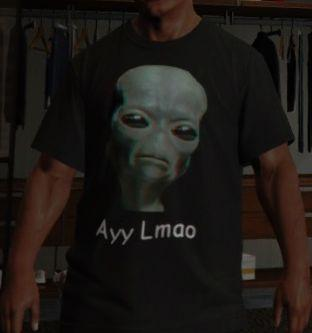 Ayy Lmao T-Shirt for Franklin