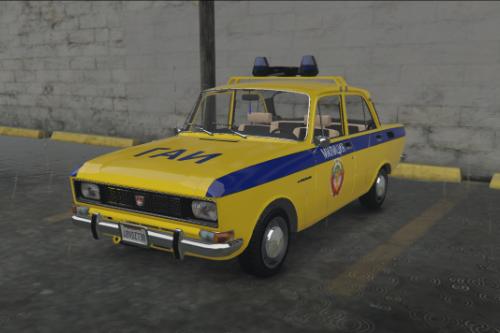 AZLK-2138-MOSKVICH-POLICE