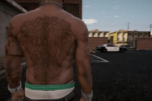 All 50 Cent Tattoos For Franklin [FINAL]