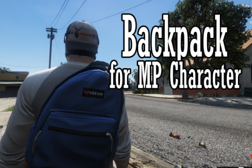 Backpack for MP Character