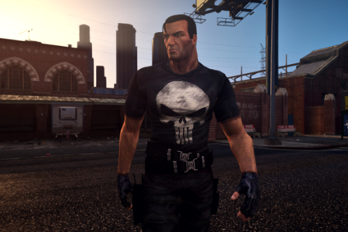 Badass Punisher from PS2 Game