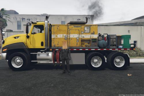 Bagged CT660 Service Truck (Menyoo)