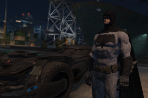BAK BVS Batman [Add-On Ped]