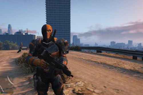 BAK Deathstroke [Add-On Ped]