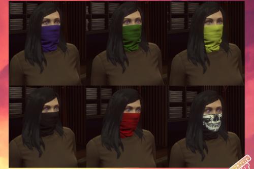 Balaclava Mask Re-texture and Female version [SP] [FIVEM]