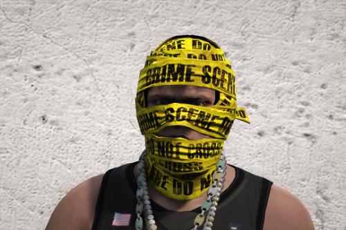 Balaclava Police tape (Franklin)