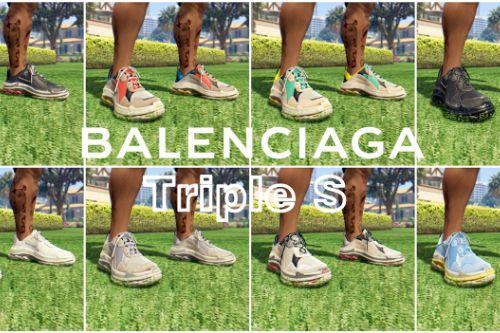 Balenciaga Triple S - 8 Color Retexture